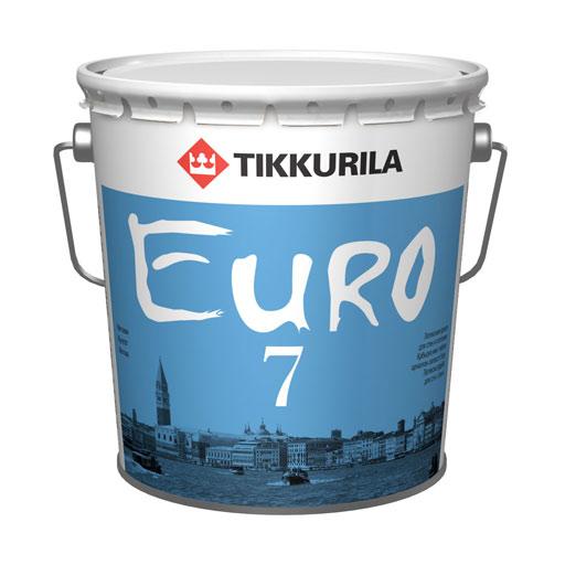 Краска ЕВРО 7, Тиккурила