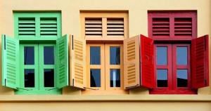 Технология окраски деревянных окон