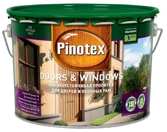 Пинотекс Дорс и Виндоуз (Pinotex Doors and Windows)