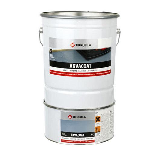 Аквакоут(Akvacoat) эпоксидная краска - двухкомпонентная водоразбавляемая