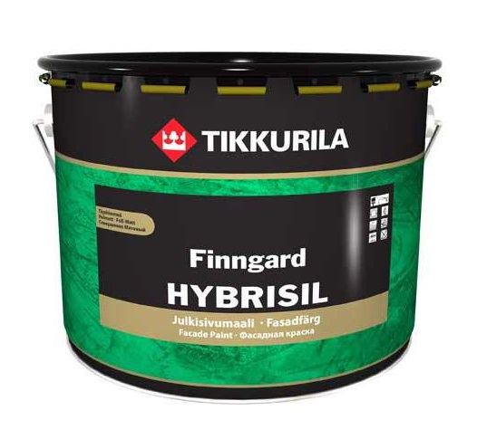Гибрисил(Hubrisil) - водоразбавляемая незагрязняющаяся самоочищающаяся фасадная краска