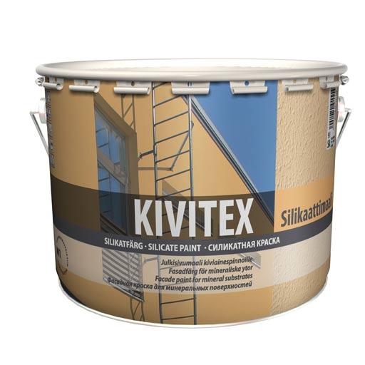 Кивитекс(Kivitex) силикатная краска для фасадов