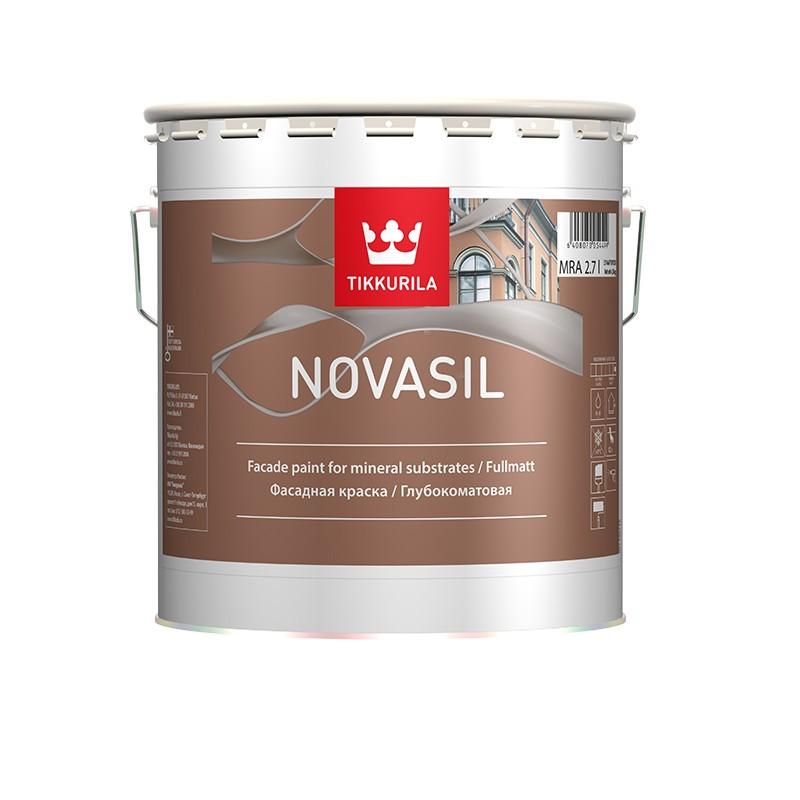 Новасил глубокоматовая краска для бетона