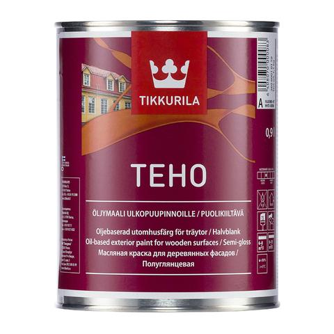 Краска для деревянных фасадов Техо