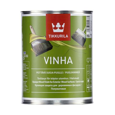 Винха(Vinha) антисептик и краска для фасадов из дерева