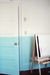 Подготовка двери к окраске красками Тиккурила