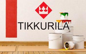 Продукция концерна Tikkurila