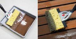 Инструмент для окраски деревянных поверхностей