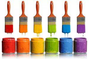 Колеровка краски на профессиональном оборудовании Тиккурила