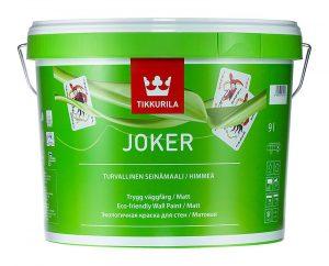 Интерьерная краска Tikkurila Joker