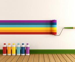 Краски для стен и потолка