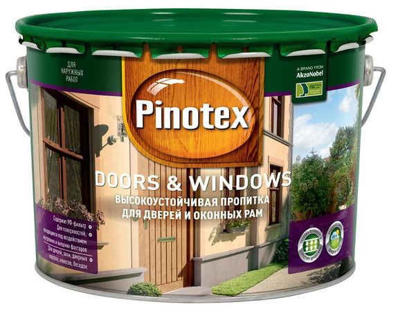 Пинотекс Дорс и Виндоуз (Pinotex Doors and Windows)