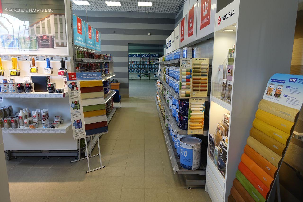 Адрес магазина красок Тиккурила в Санкт-Петербурге