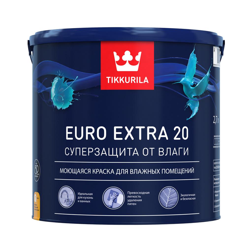 Краска Euro Extra 20, Тиккурила
