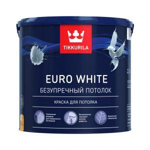 Краска Euro White, Тиккурила