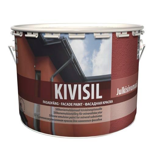 Кивисил(Kivisil) фасадная краска Тиккурила