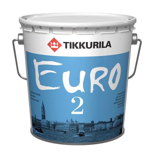 Краска ЕВРО 2, Тиккурила