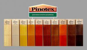Антисептики, лаки и пропитки Пинотекс