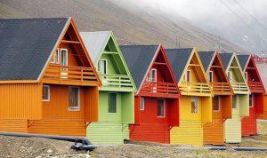 Укрывистые краски для деревянных фасадов