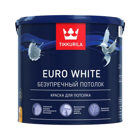 Евро Уайт - безупречная краска для потолка