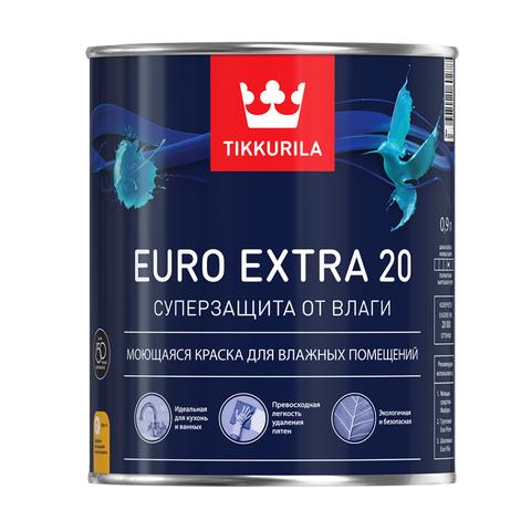 Евро Экстра 20 это супер влагостойкая краска