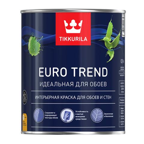 Евро Тренд Тиккурила идеальна для окраски обоев
