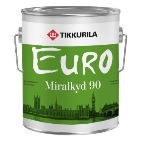 Эмаль универсальная Евро Миралкид 90