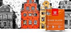 Facade Silicon — новинка от Tikkurila