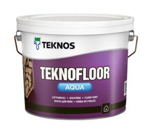 Краска для пола Teknofloor от Teknos