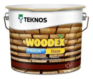 Woodex Aqua Base - защита древесины высшего качества!