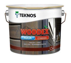 Защитные составы для дерева от Teknos: линейка Woodex