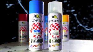 Купить аэрозольные краски Bosny