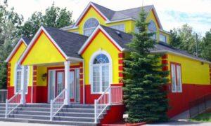 Цены на фасадные краски можно посмотреть в каталоге
