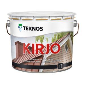 KIRJO TILE: краска для кровли из бетонной черепицы