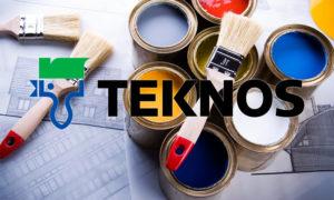 Краски Текнос в Петербурге от фирмы ЛидерЛКМ