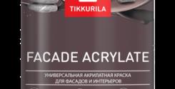 Встречайте новинку от Tikkurila — Facade Acrylate