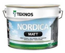 Nordica Matt: фасадная краска по дереву