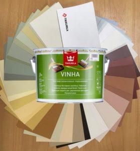 Цвет краски Тиккурила Винха выбирается по специальному каталогу