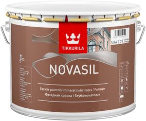 Доступная цена на фасадную краску Novasil
