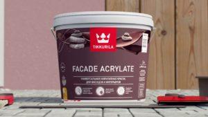 Где выгодно купить Facade Acrylate от Tikkurila и какие преимущества у краски