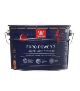 Преимущества краски Tikkurila Euro power 7