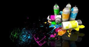 Главные преимущества акриловых аэрозольных красок