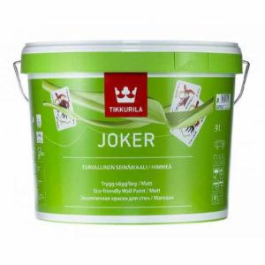 Когда вам стоит выбрать Tikkurila Joker