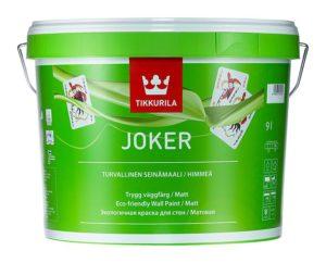 Краска Джокер от Тиккурила эксперименты в интерьере