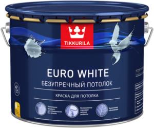 Совместимость Euro White с декоративными красками Tikkurila